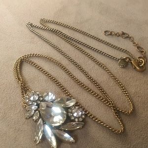 J. Crew Rhinestone necklace!